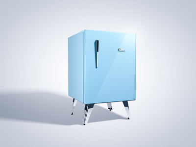 Designer Mini Kühlschrank : Kleiner kühlschrank design: mini kühlschrank im retro design von