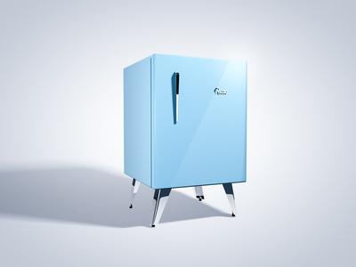 Mini Kühlschrank Vintage : Kleiner kühlschrank design mini kühlschrank im retro design von